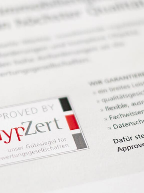 Approved by HypZert
